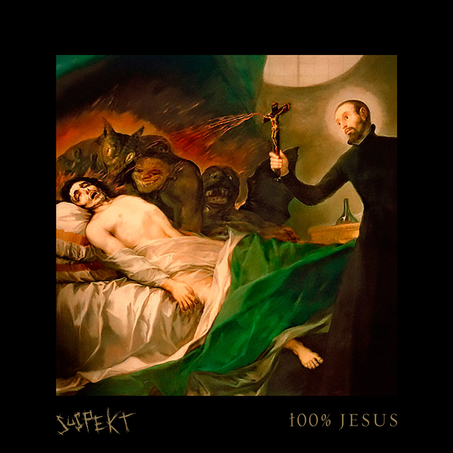 Suspekt med 100 procent Jesus på CD