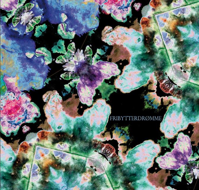 Suspekt albummet Fribytterdrømme - Labyrintens farver på LP